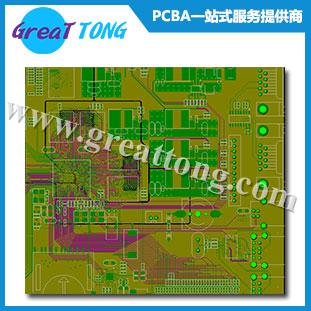 8层纺纱机电路板设计_深圳PCB设计