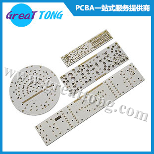 LED铝基灯板电路板加工_沉金工艺