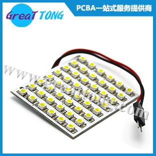 LED灯板贴片加工_PCBA代工代料
