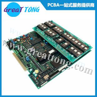 六层_工业控制线路板_PCBA加工_代工代料_SMT_插件_后焊加工_BGA焊接