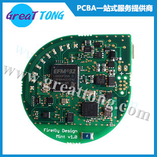 四层智能家居电路板PCBA加工