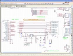 OrCAD软件设计界面