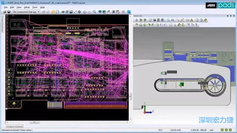 PADS                 是Mentor公司旗下的PCB版图设计工具,PADS提供了直观且简单易用的原理图和 Layout 设计环境。