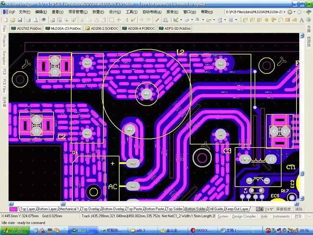 在实际PCB设计中,每条导线还会受到焊盘和过孔的影响